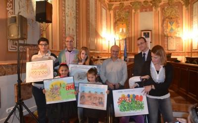 Entrega de premios del 12º Concurso de Dibujo Muestra Villena 2014