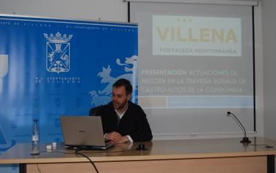 El edil de Movilidad Urbana ha explicado las  actuaciones de mejoras a realizar en la travesía Rosalía de Castro-Altos de la Condomina