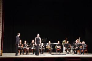 Interpretación de Carmina Burana con la soprano Carmen Muñoz