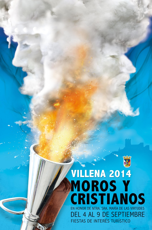 Cartel Fiestas de Moros y Cristianos 2014