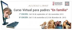 """Curso Virtual para padres """"En familia"""""""