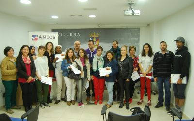 Entrega de diplomas del II Taller de Cocina Intercultural
