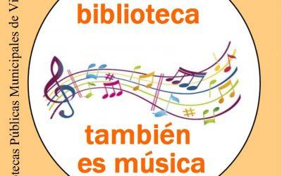 APROVECHA Y LLÉVATE A CASA ESTOS DISCOS,   LA BIBLIOTECA TAMBIÉN ES MÚSICA  !!!