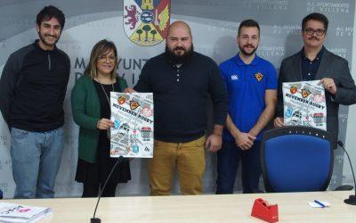 Partido benéfico de rugby en Villena