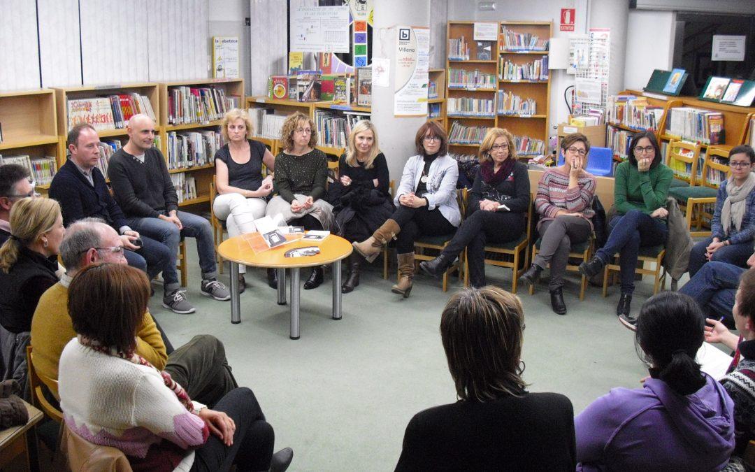 El escritor villenense Francisco Javier Rodenas vino a visitarnos al Club de Lectura