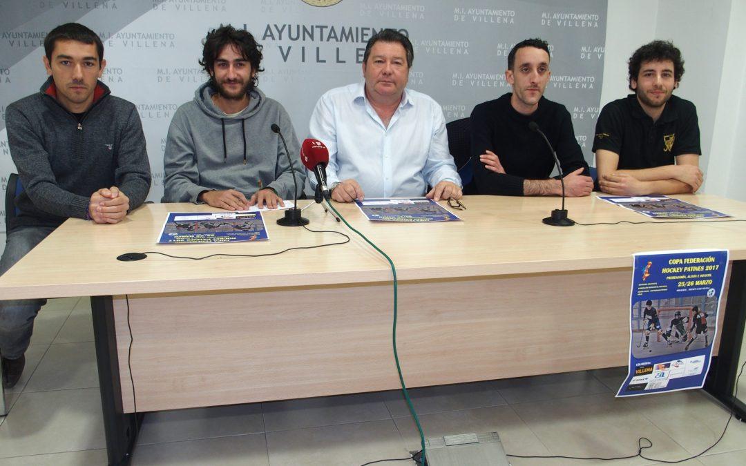 Llega a Villena la Copa Federación de hockey patines