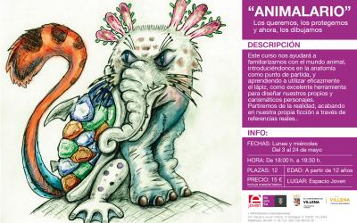 ANIMALARIO: TALLER DE DIBUJO