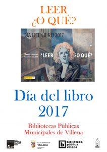cartel mes del libro 2017