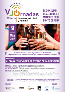 upcca V CARTEL JORNADAS ALCOHOLVillena (1)