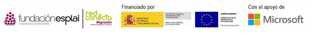 Banner logo Red Conecta Migración