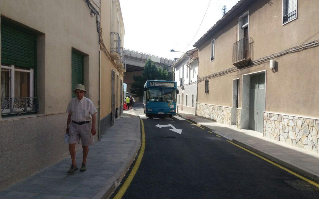 Apertura de la Calle Nueva al tráfico
