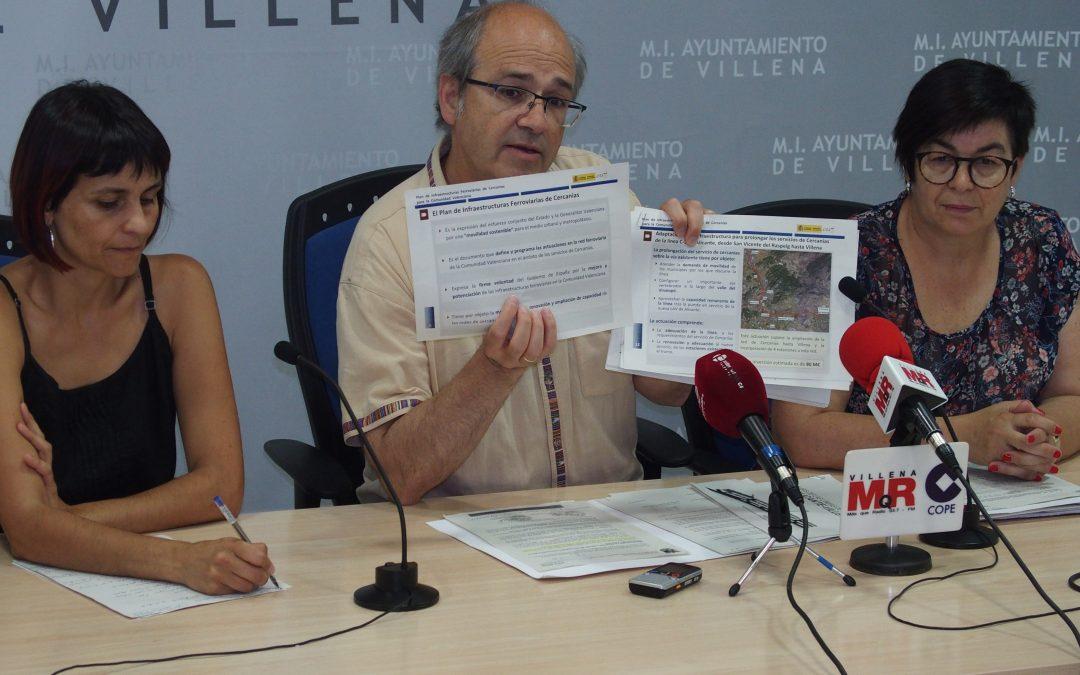 Villena solicita mejoras en cercanías y media distancia a Renfe en Madrid