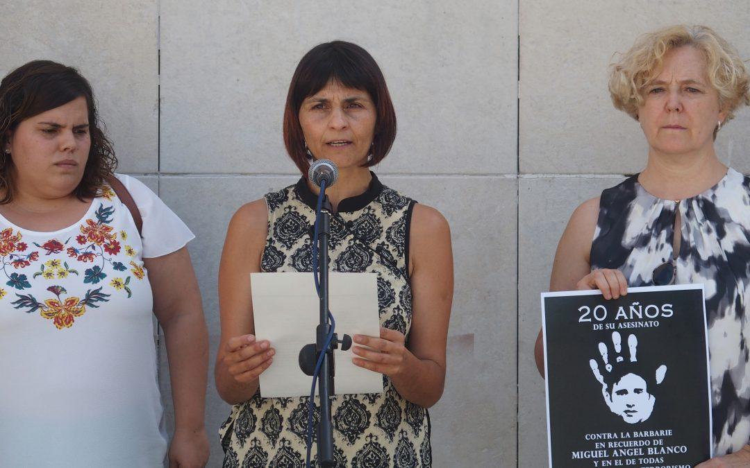 Villena recuerda el asesinato de Miguel Ángel Blanco en su 20 aniversario
