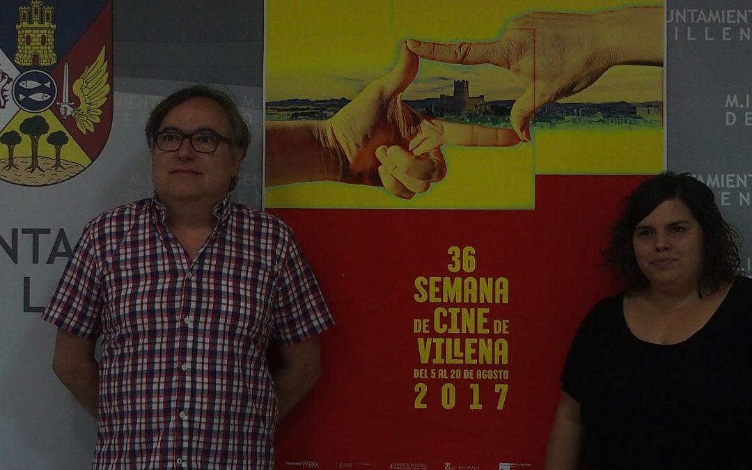 Presentada la Semana del Cine en Villena para este verano