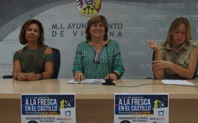 """La concejalía del Casco Histórico presenta las noches """" A la Fresca en el Castillo"""""""