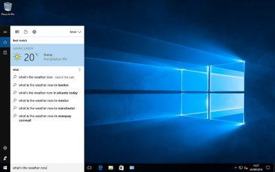 Nuevo curso: Windows 10