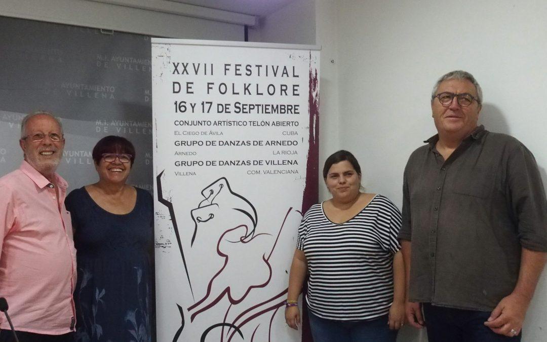 Villena se prepara para acoger al Festival de Folklore en septiembre
