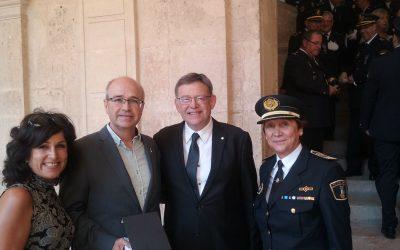 La Generalitat Valenciana condecora al Cuerpo de la Policía Local de Villena