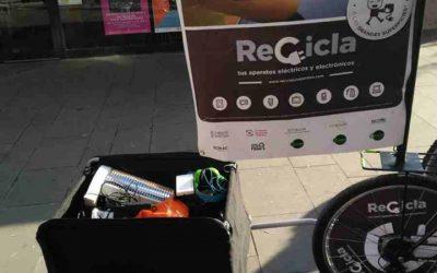 Campaña para la recogida de aparatos eléctricos y electrónicos en Villena