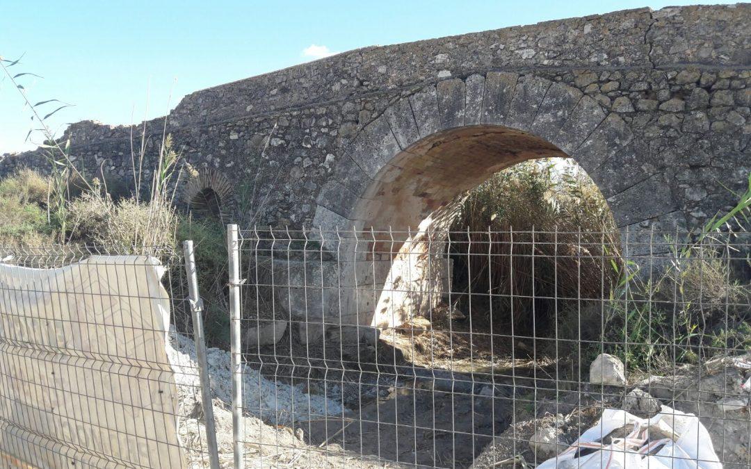 Se retoman las obras de rehabilitación del Puente de los Espejos