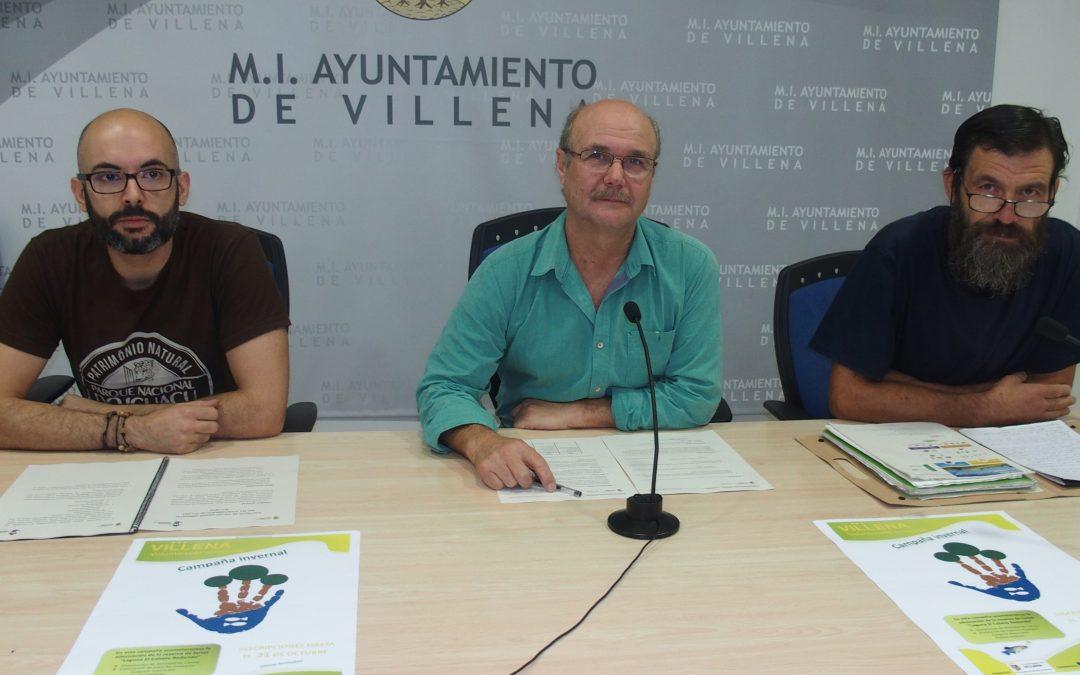 Voluntariado ambiental en Villena para la recuperación de humedales