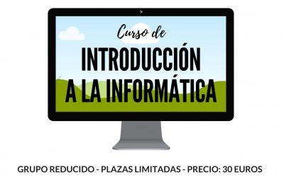 Nuevo curso de Introducción a la Informática