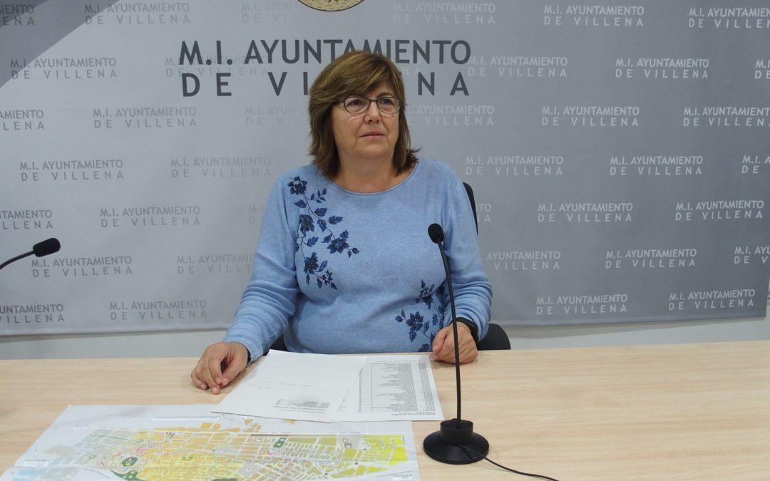 Villena cambiará más de 600 placas de calles este año