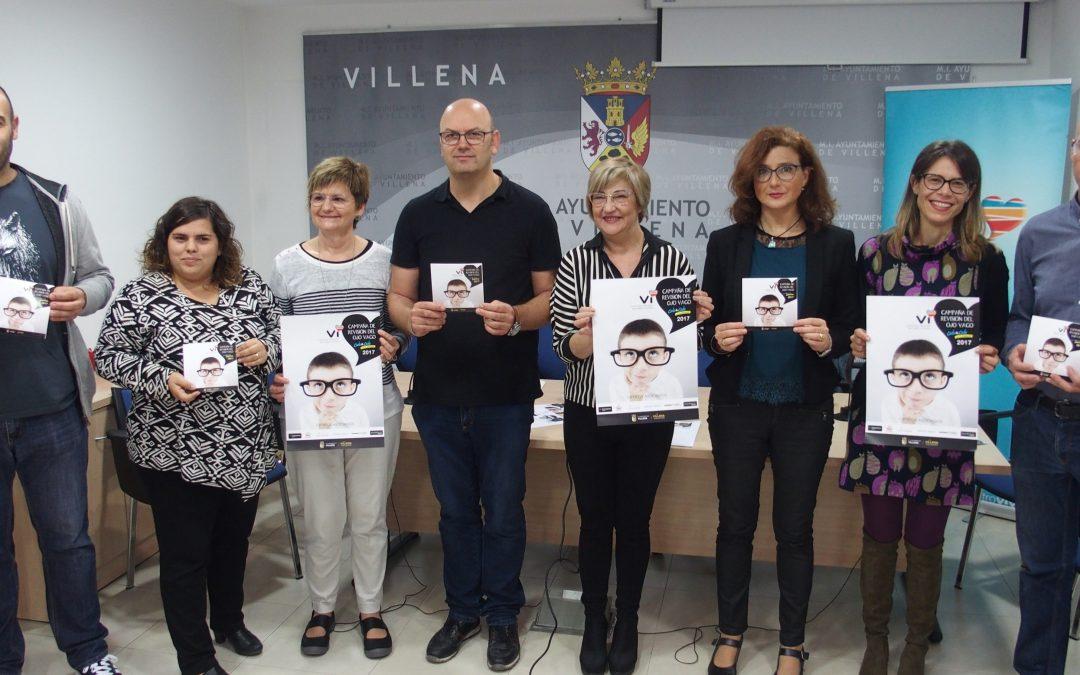 Se inicia la campaña de revisión de ambliopía para escolares