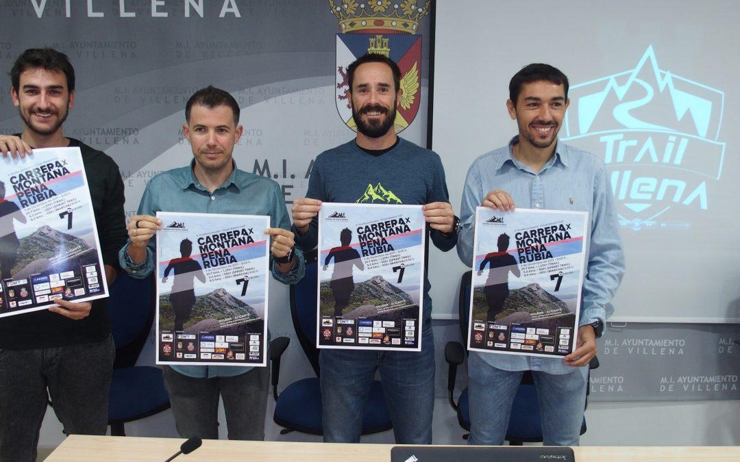 Media maratón de montaña y marcha senderista en Peña Rubia