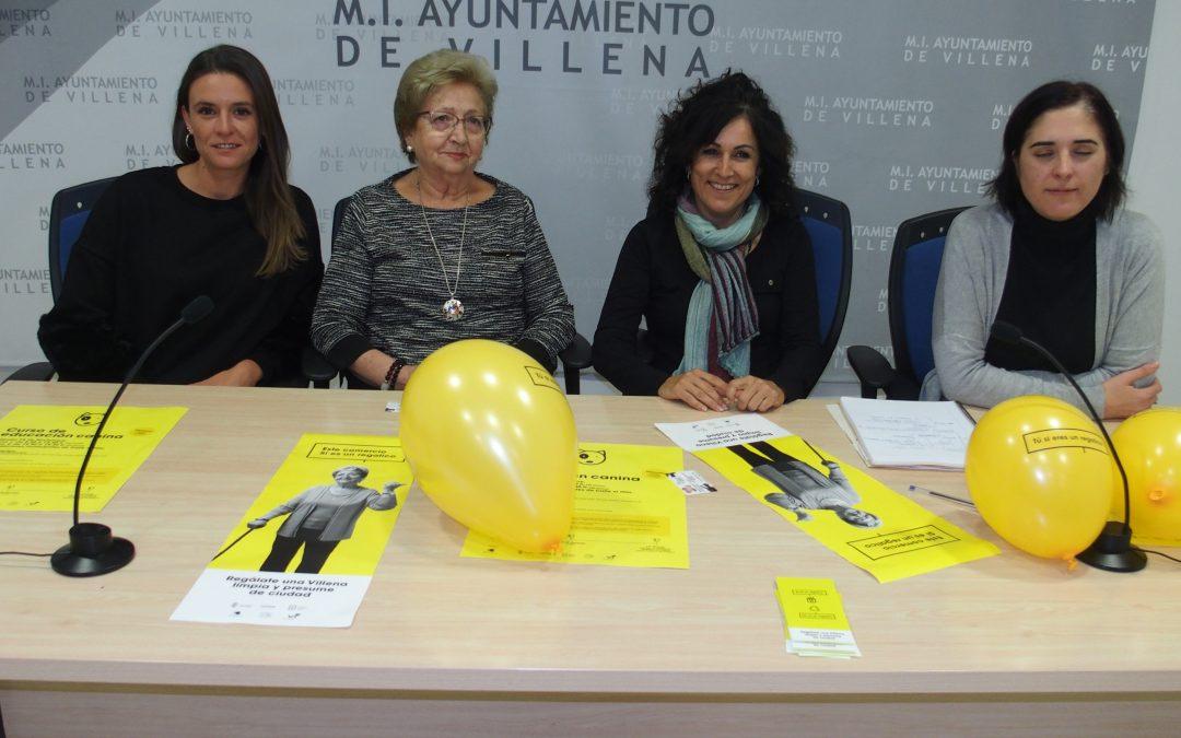 """Campaña de concienciación ciudadana """"Regálate una Villena Limpia"""""""