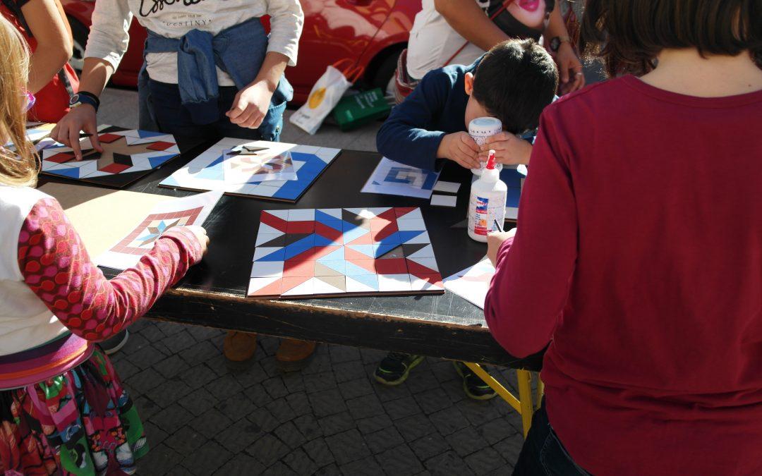 Los Mosaicos Nolla y el Modernismo se muestran al público infantil