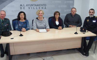 Villena se une en un protocolo contra la violencia de género