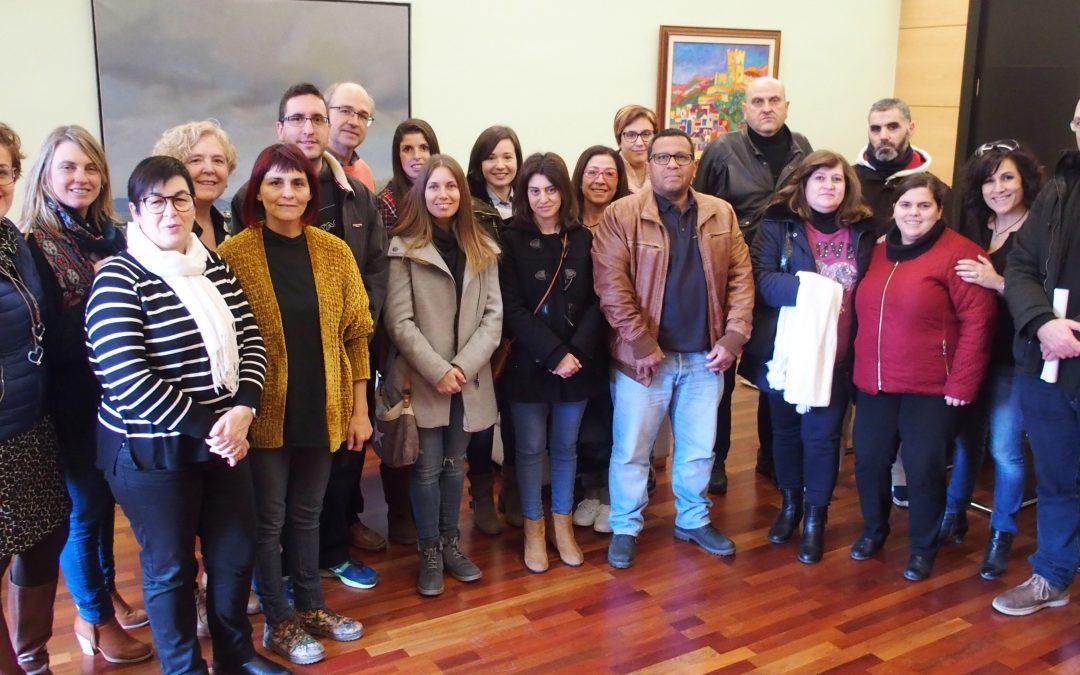 Recepción del nuevo personal municipal en Alcaldía