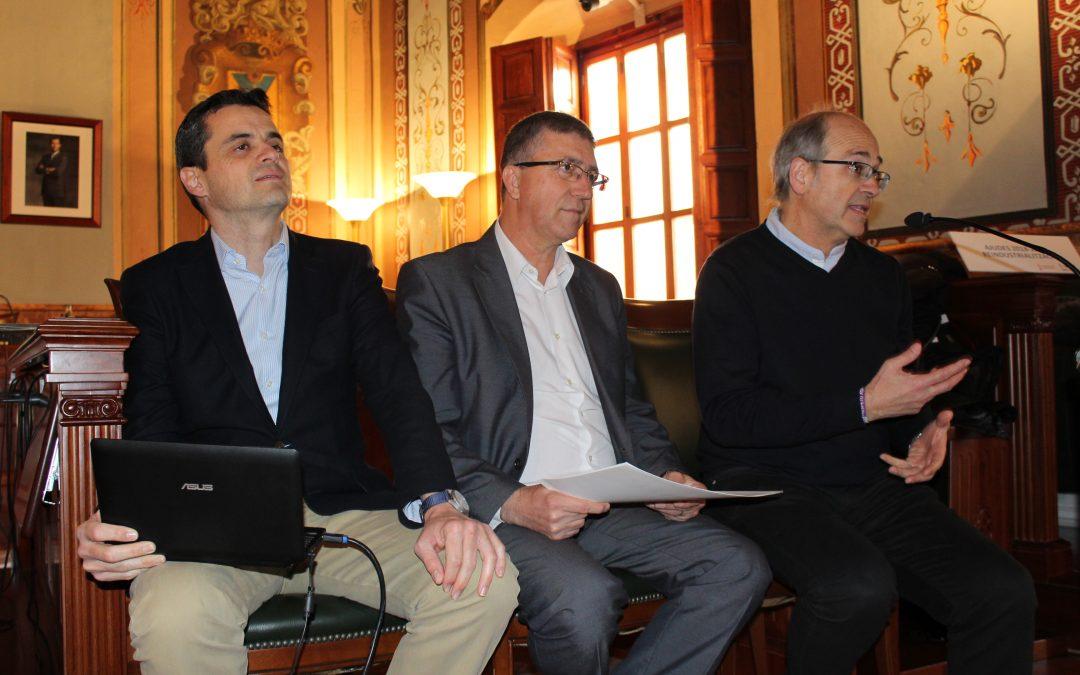 El Conseller de Economía presenta las Ayudas a la Reindustrialización en Villena