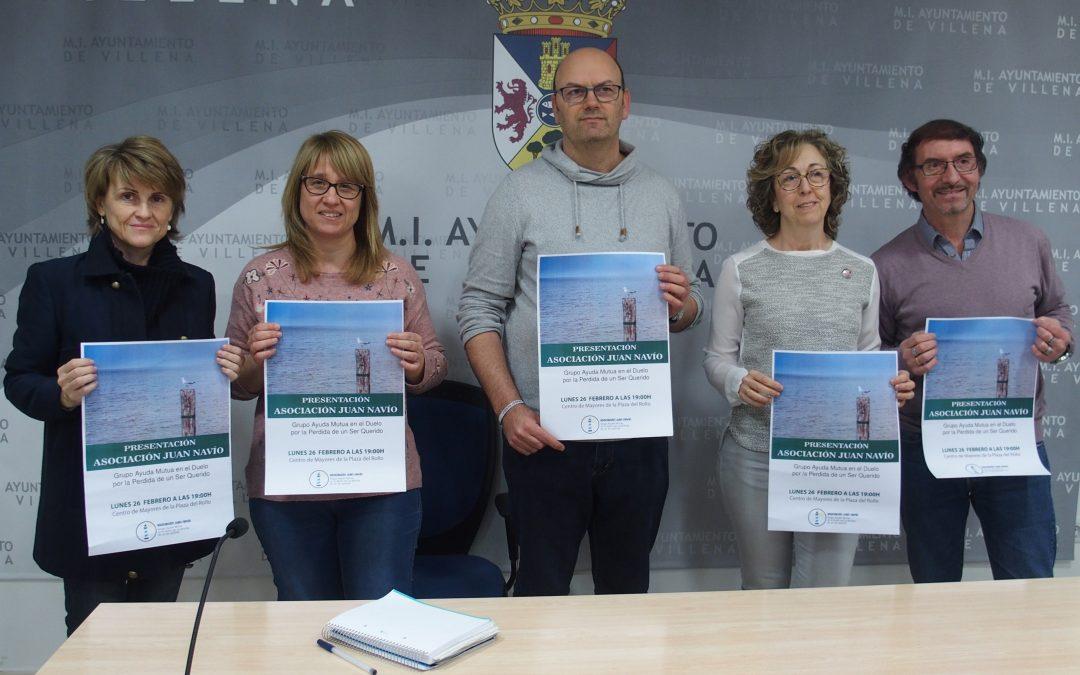 La asociación Juan Navío de ayuda mutua en el duelo comienza su andadura en Villena