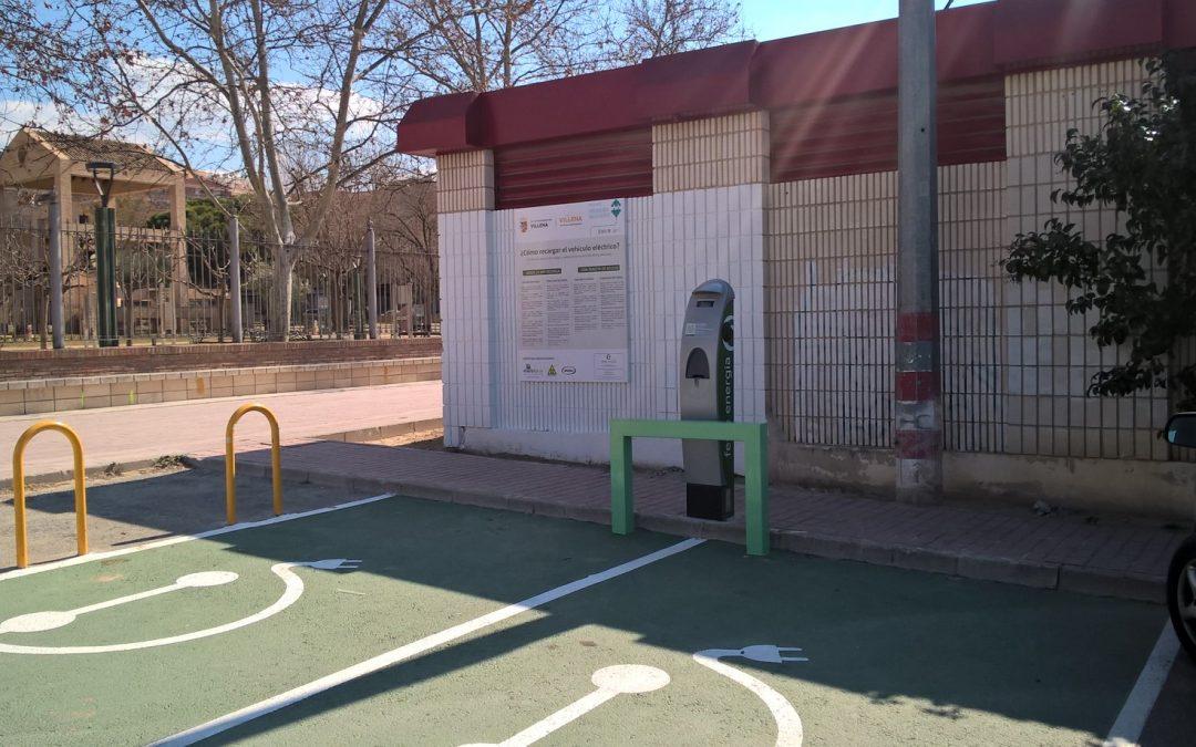 El Ayuntamiento instala el punto de recarga para vehículos eléctricos gracias al IVACE