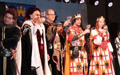 La llegada de los Reyes Católicos a Villena marca el inicio de las Fiestas del Medievo