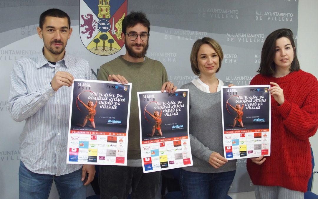 Torneo Ciudad de Villena de gimnasia rítmica en el polideportivo