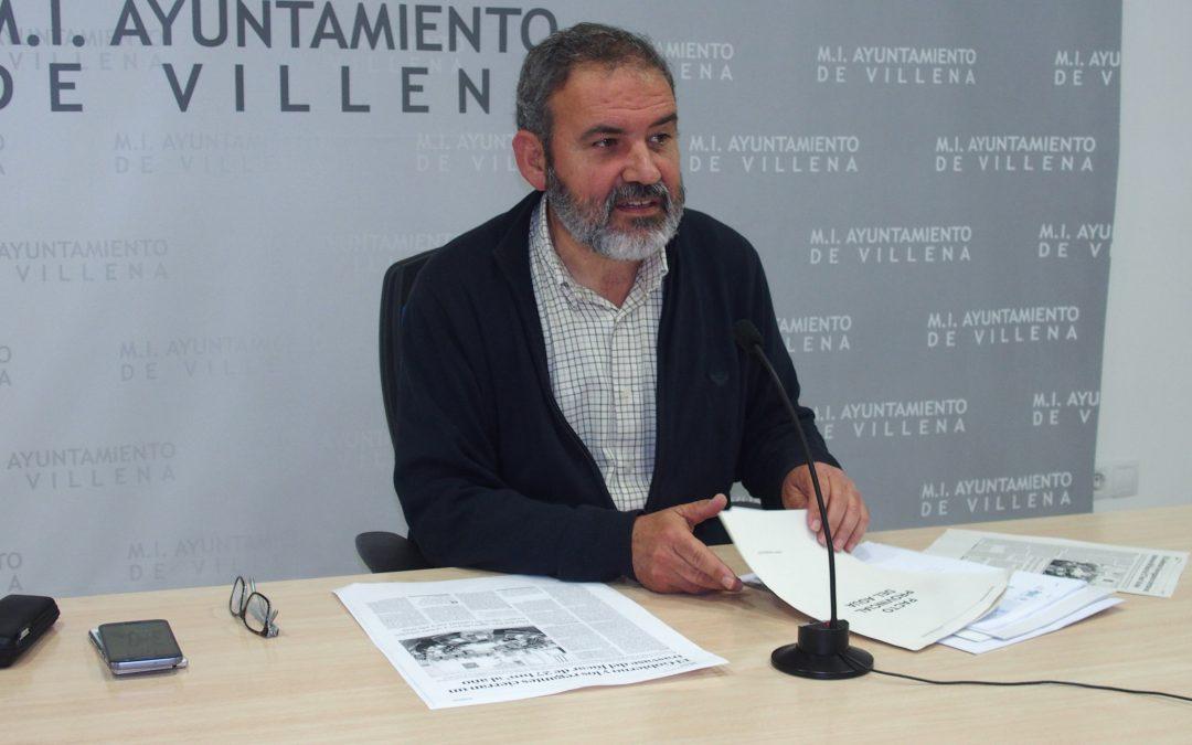 Villena se opone al Pacto Provincial del Agua