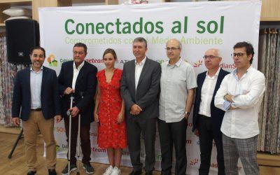 El Conseller de Economía Sostenible visita la planta fotovoltaica de autoconsumo más grande de España situada en Villena