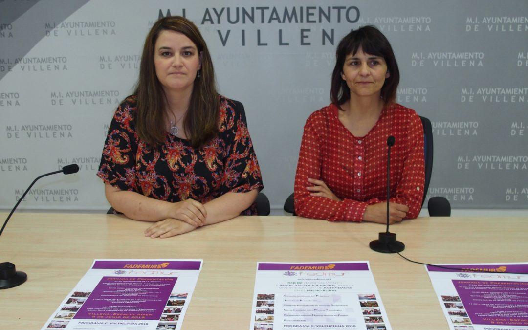 Mañana se presentar el Proyecto Redmur en Villena