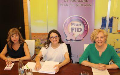 Mónica Oltra visita Villena para presentar el Plan de Felicidad, Igualdad y Diversidad