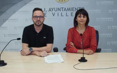 Abierto el plazo de solicitud de subvenciones a las asociaciones vecinales de Villena