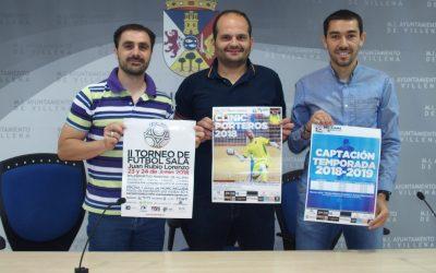 Torneo junior de fútbol sala Juan Rubio en el Polideportivo Municipal