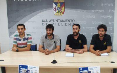 El Hockey Club Villena presenta el 3º Trofeo Dani Díaz