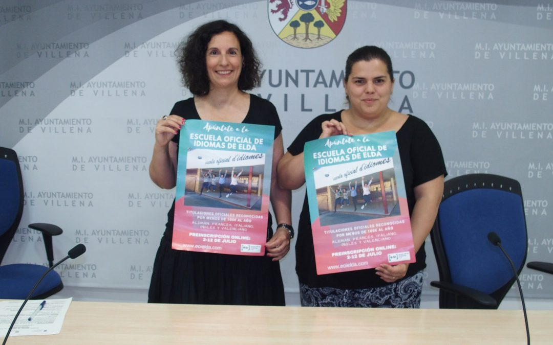 Abierto el plazo de preinscripción para la Escuela Oficial de Idiomas