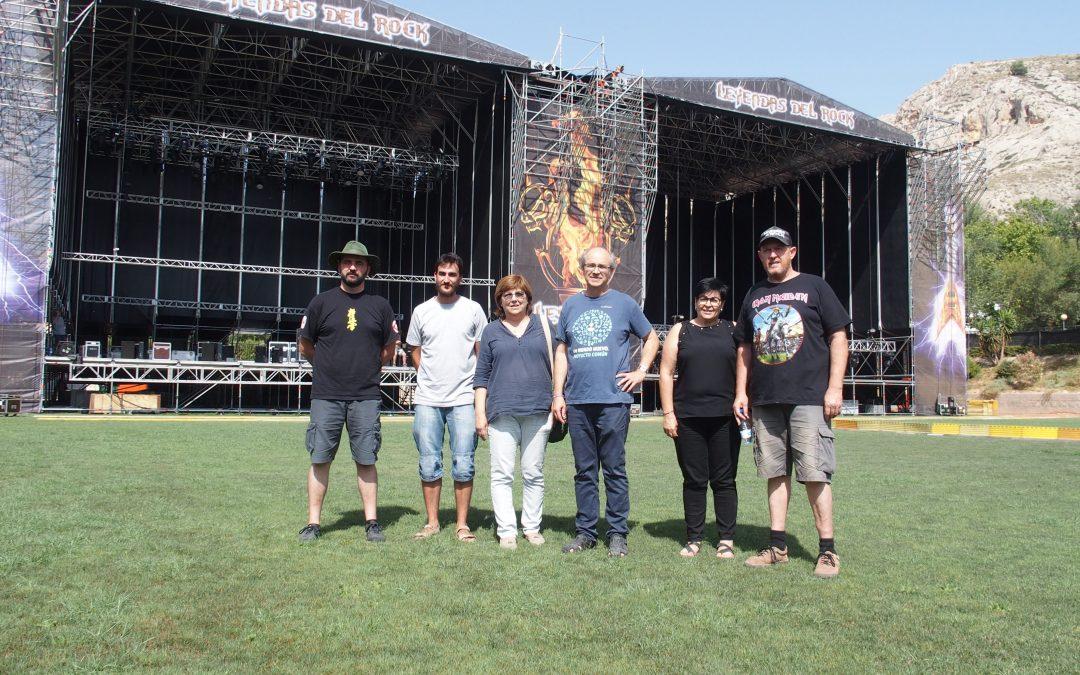 Villena acoge un año más los festivales Leyendas del Rock y Rabolagartija en el polideportivo municipal