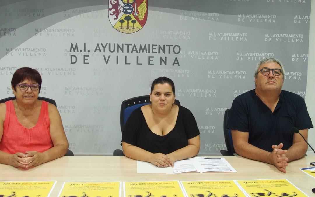 El fin de semana de la Esclavitud se celebrará en Villena el XXVIII Festival de Folklore