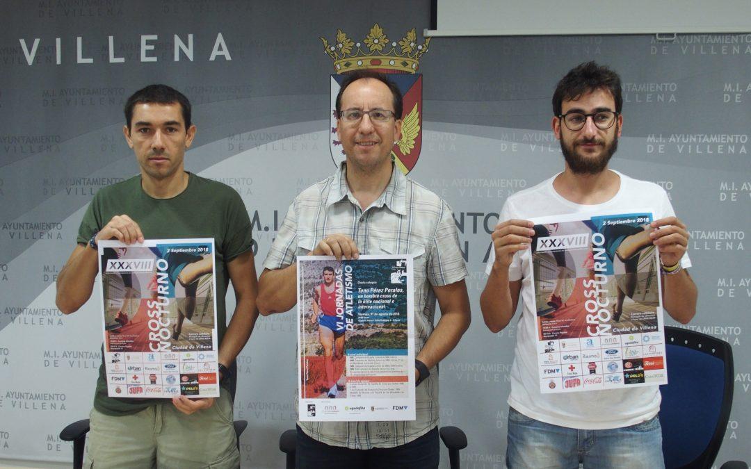 El Cross Nocturno de Villena celebra su 38ª edición el próximo 2 de septiembre