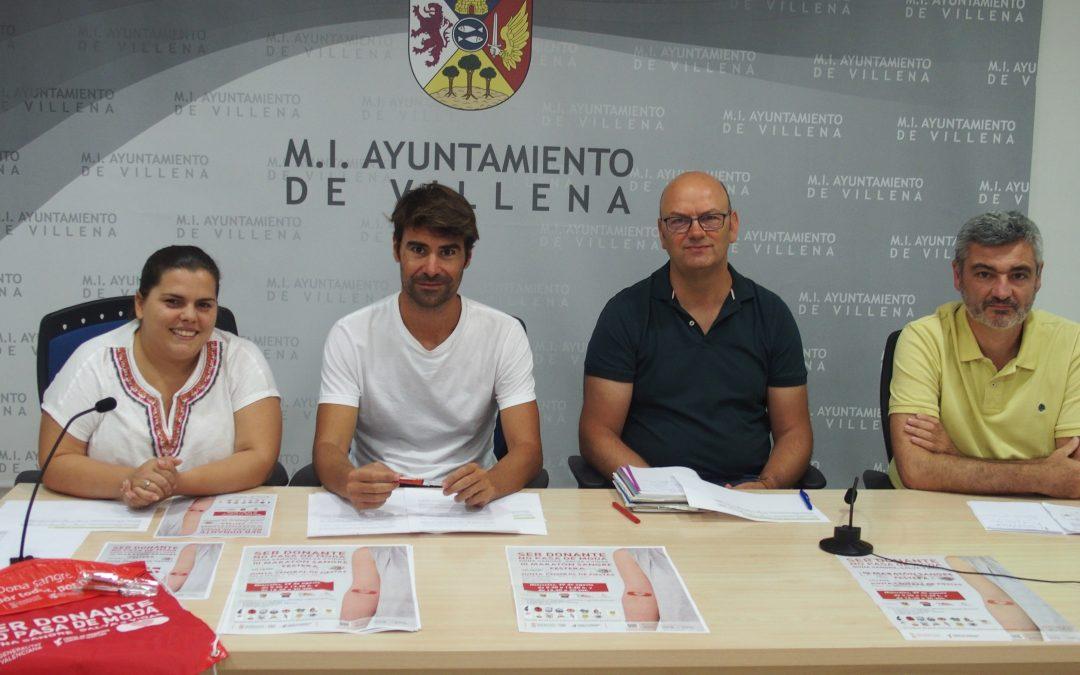 El 3º Maratón de donación de sangre organizado por la Junta Central de Fiestas se celebra el 29 de agosto